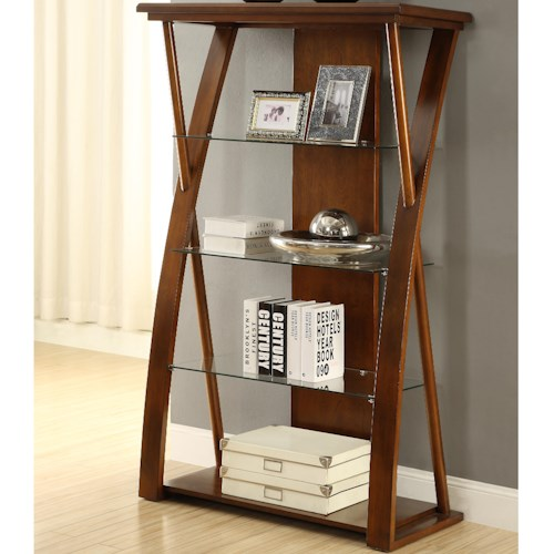 Vendor 1356 Super Z Bookcase with 4 Shelves