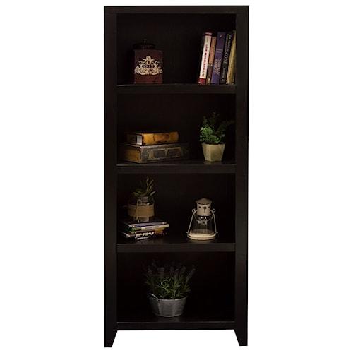 Legends Furniture Urban Loft 4-Shelf Bookcase Pier