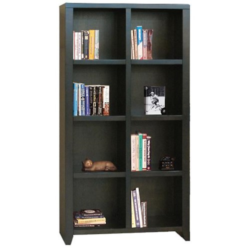 Legends Furniture Urban Loft Eight-Cubicle Bookcase