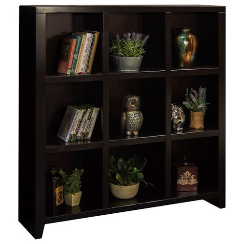 Legends Furniture Urban Loft Nine-Cubicle Bookcase