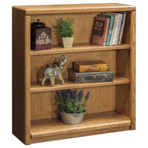 Vendor 1356 Contemporary - Value Groups Bookcase With Two Adjustable Shelves