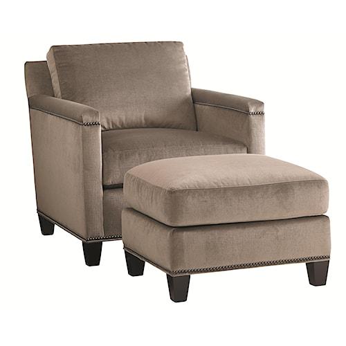 Lexington Carrera Strada Chair and Ottoman Set