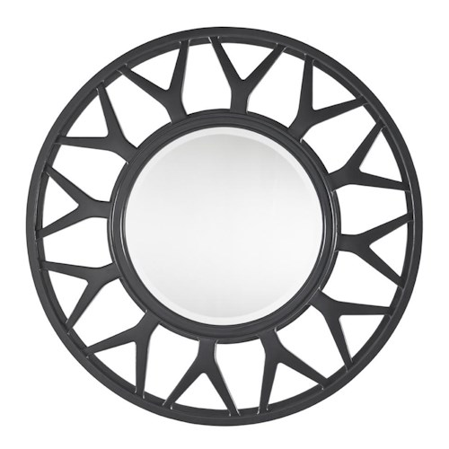 Lexington Carrera Esprit Spoked Modern Sunburst Mirror