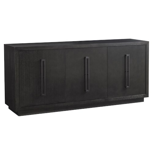 Lexington Carrera Targa Buffet with Ample Adjustable Shelf Space and Lined Silverware Drawers