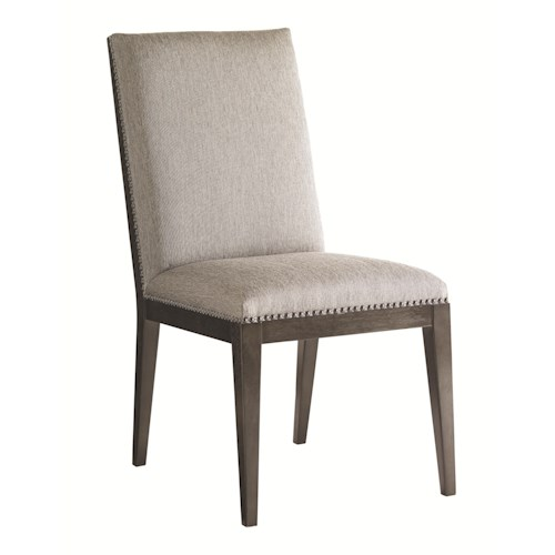 Lexington Carrera Customizable Vantage Upholstered Side Chair