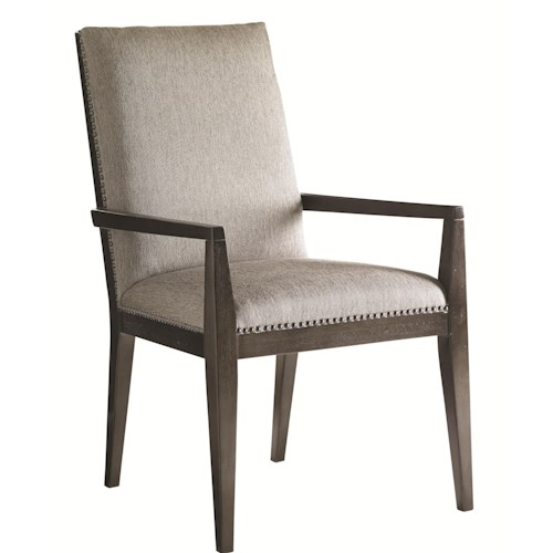 Lexington Carrera Customizable Vantage Upholstered Arm Chair