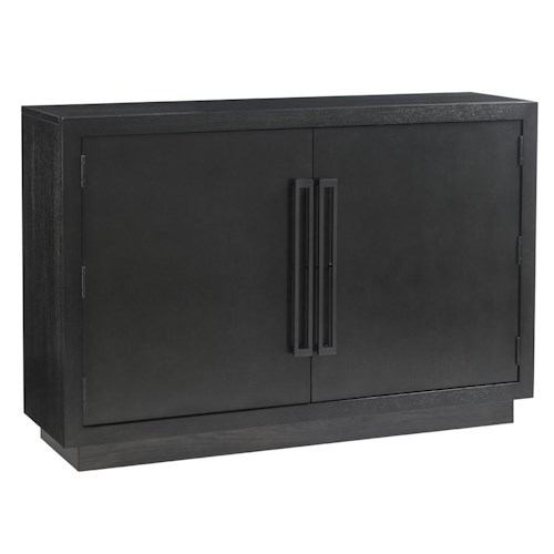 Lexington Carrera Sergio Hall Chest with Two Doors and Adjustable Interior Shelves