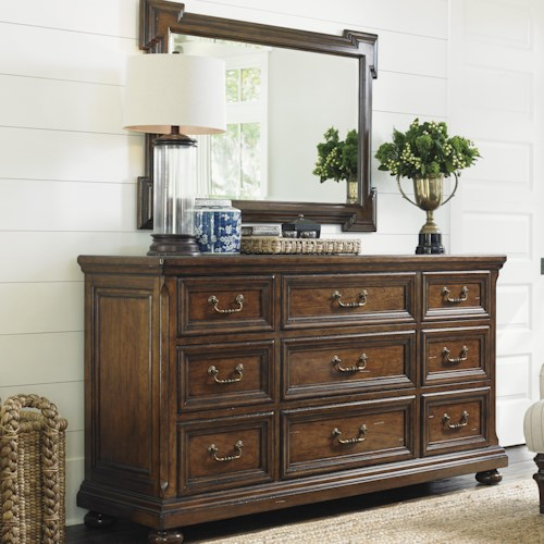 Lexington Coventry Hills Grayson Dresser and Addison Mirror Set