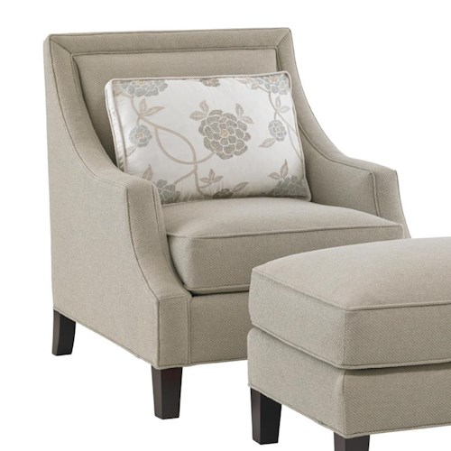 Lexington Kensington Place Transitional Pendleton Chair