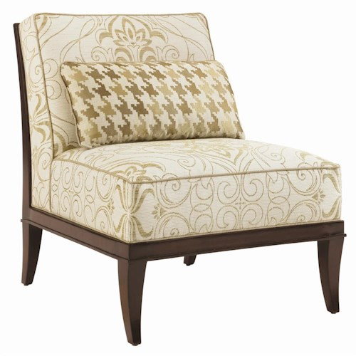 Lexington Lexington Upholstery Montaigne Armless Tight Back Chair