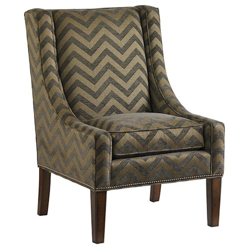 Lexington Lexington Upholstery Calypso Tight Back Accent Chair