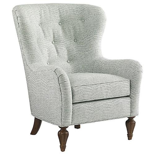 Lexington Lexington Upholstery Tremont Tufted Back Arm Chair