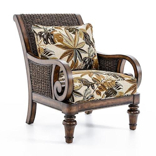 Lexington Lexington Upholstery Marin Chair - Loose Back Water Hyacanith Chair