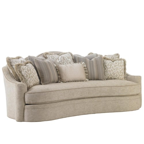 Lexington Lexington Upholstery Promenade Sofa with Sloped Track Arm