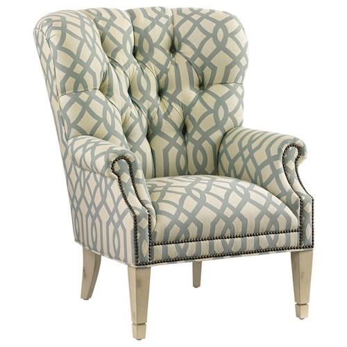 Lexington Lexington Upholstery Wilton Tufted Back Wing Chair
