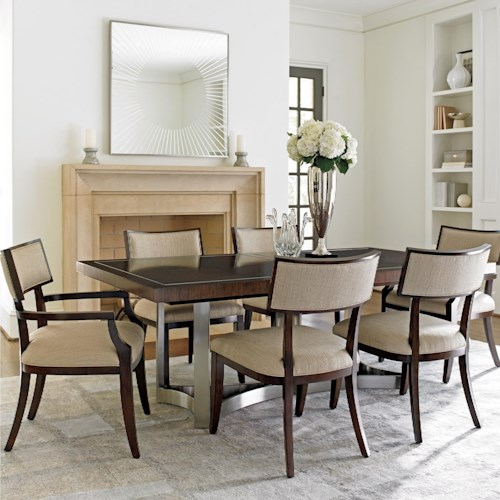 Lexington Dining Room Furniture: Lexington MacArthur Park 729-876C 7 Pc Beverly Place