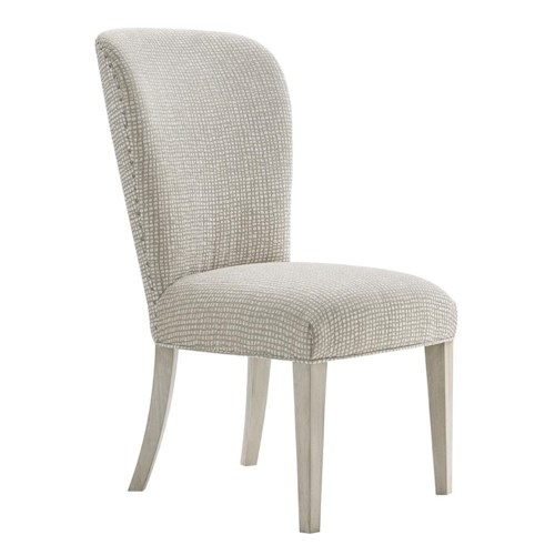 Lexington Oyster Bay Baxter Dining Side Chair with Customizable Upholstery