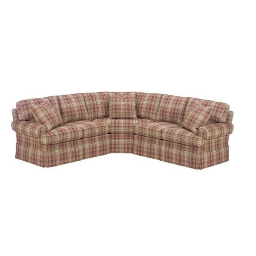Lexington Personal Design Series Customizable Upholstered McConnell Sectional