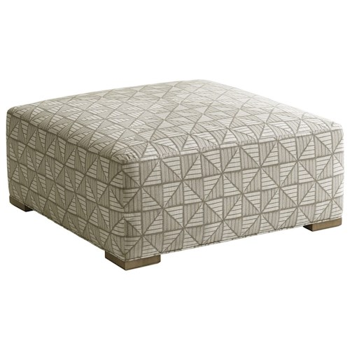 Lexington Shadow Play Melina Square Cocktail Ottoman