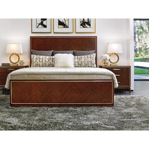 Lexington TAKE FIVE Queen Bedroom Group