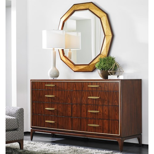Lexington TAKE FIVE Capella Dresser and Savoy Mirror Set