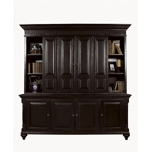 Tommy Bahama Home Kingstown Wellington Entertainment Center with Bi-fold Doors