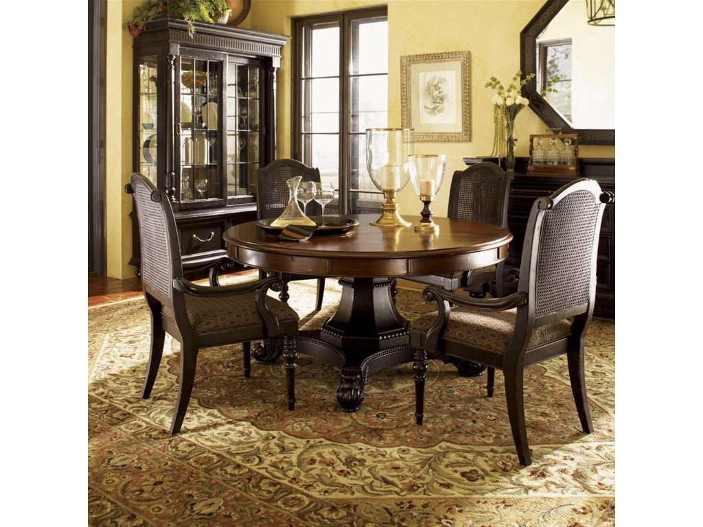 Tommy Bahama Kitchen Table Tommy Bahama Home Kingstown Bonaire Round Dining Table With
