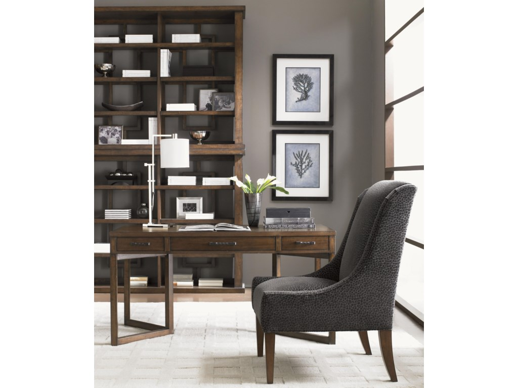 Shown with Journalist Writing Desk and Mode Dining Chair
