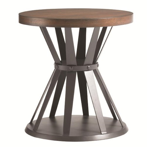 Lexington 11 South Profile Lamp Table with Hourglass Base