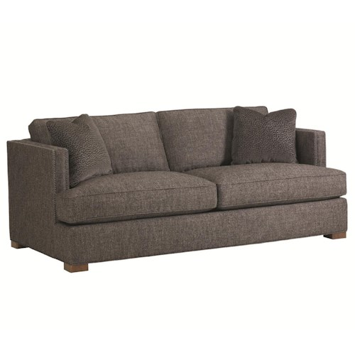 Lexington 11 South Loose Back Fillmore Stationary Sofa