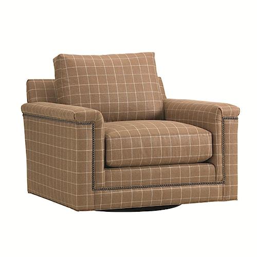 Lexington 11 South Balance Swivel Chair with Loose Back