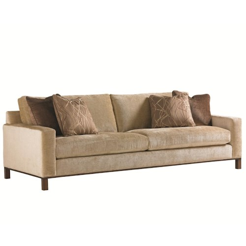 Lexington 11 South Chronicle Stationary Sofa with Loose Back