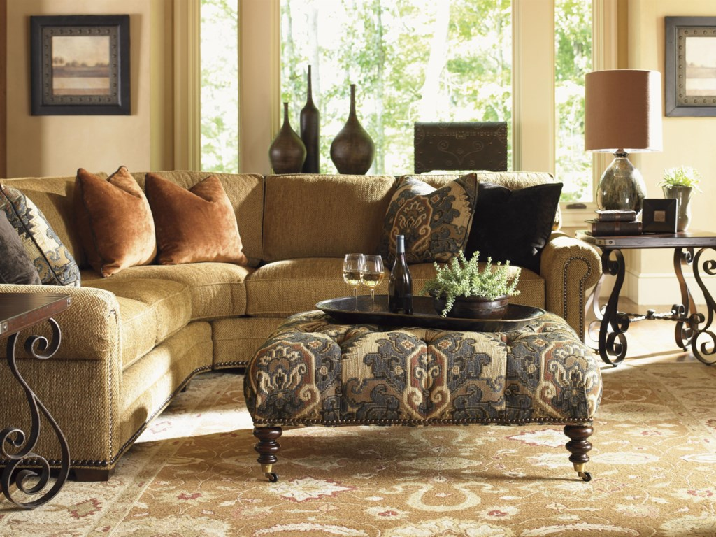Shown with Cohen Sectional Sofa and Littleton End Tables