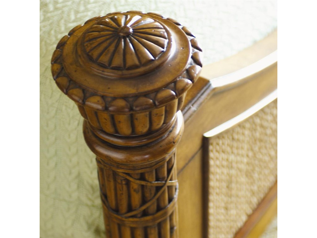 Leather Wrapped Classic Reeded Posts