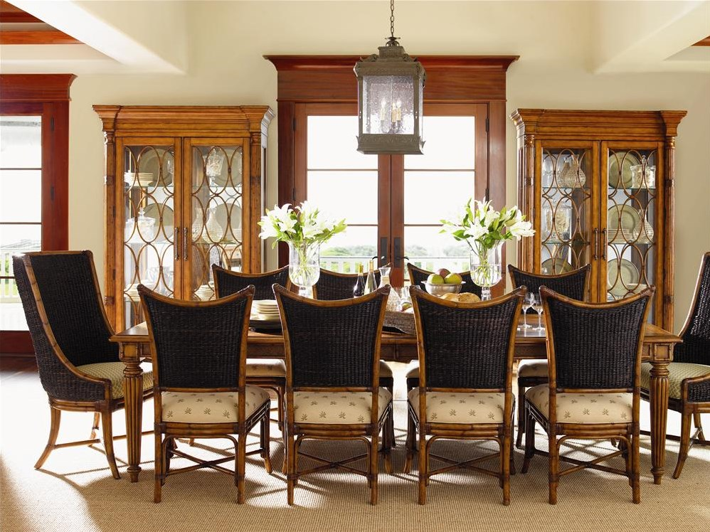 Shown with Grenadine Rectangular Dining Table, Cruz Bay Host Chairs & Mangrove Side Chairs