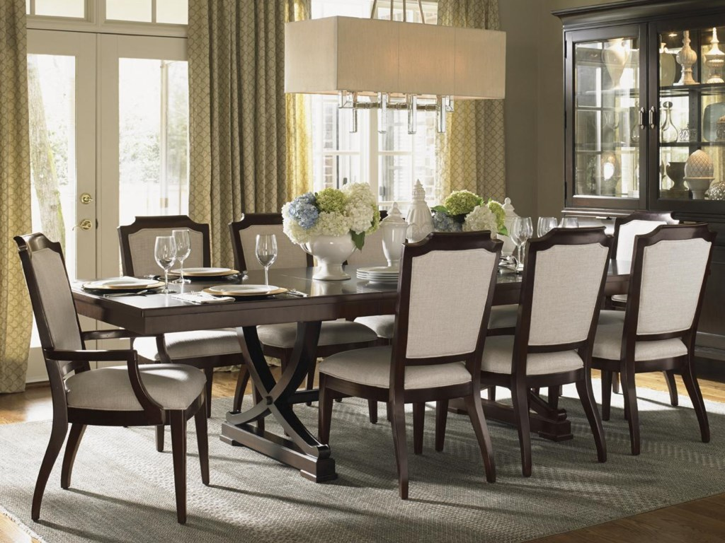 Shown with Westwood Table and Candace Chairs