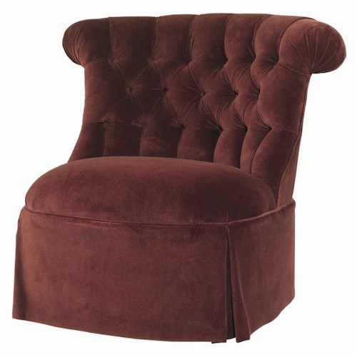 Lexington Lexington Upholstery Armless Tufted Back York Chair