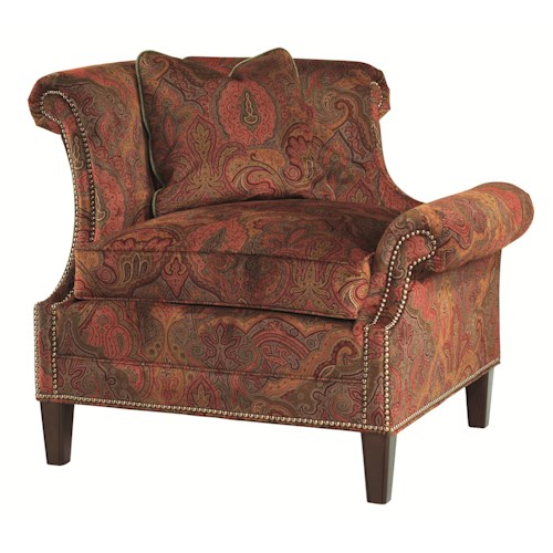Lexington Lexington Upholstery Left Leaning Braddock Upholstered Chair
