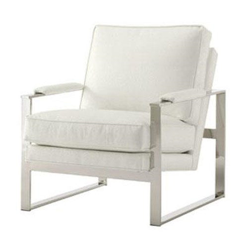 Lexington Lexington Upholstery Moonstone Chair with Metal Accents