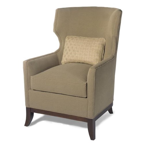 Lexington Lexington Upholstery Angie Modern Wing Chair