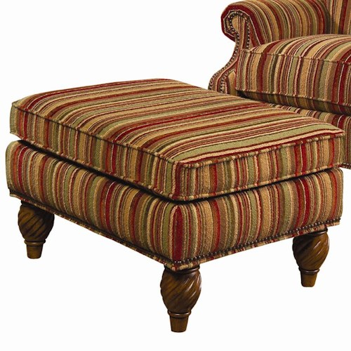 Lexington Lexington Upholstery Wallace Upholstered Ottoman