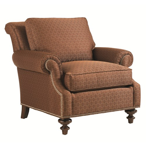 Lexington Lexington Upholstery Darby Loose Back Upholstered Chair
