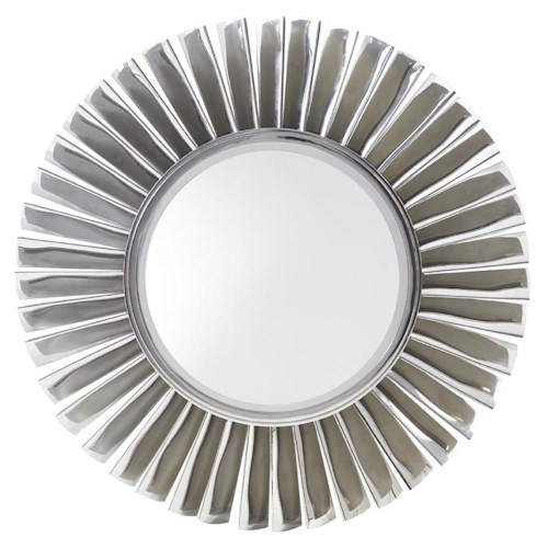 Lexington Mirage Fontaine Round Mirror