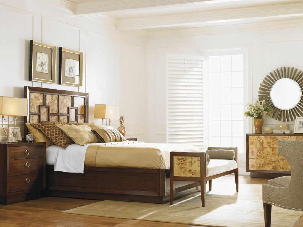 Shown with Garland Dresser, Harlow Panel Bed, Lombard Nightstand, Bette Bench and the Greta Chair