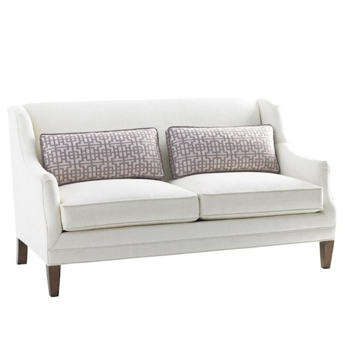 Lexington Mirage Tight Back Sofia Love Seat