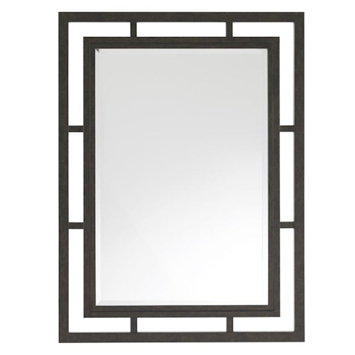 Lexington Monterey Sands Salinas Metal Mirror