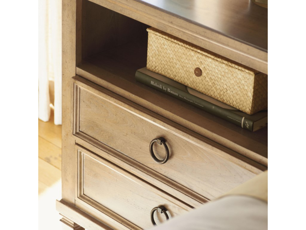 Simple Ring Hardware Adds a Timeless Look with its Burnished Antique Bronze Finish.