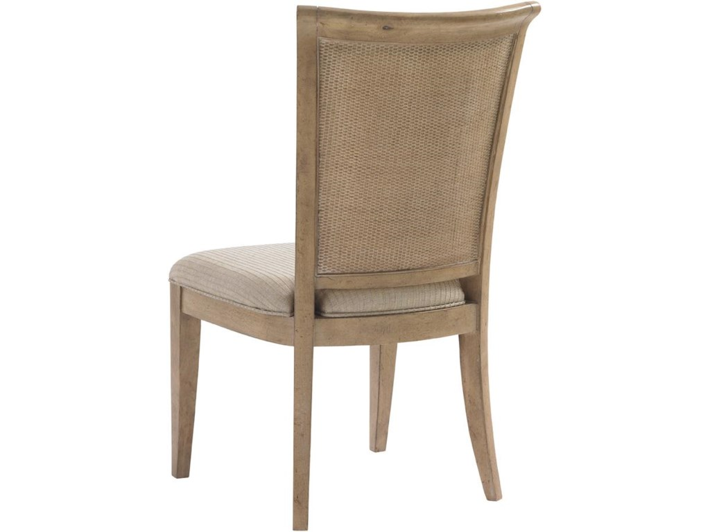 Back View of Los Altos Side Chair
