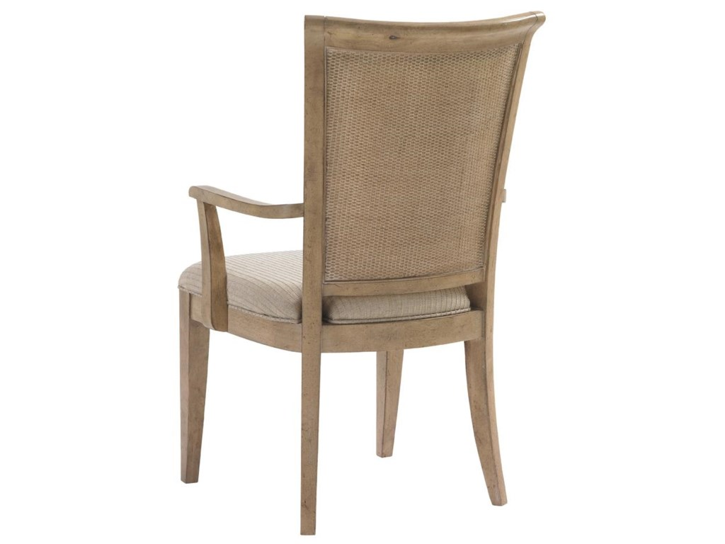 Back View of Los Altos Arm Chair