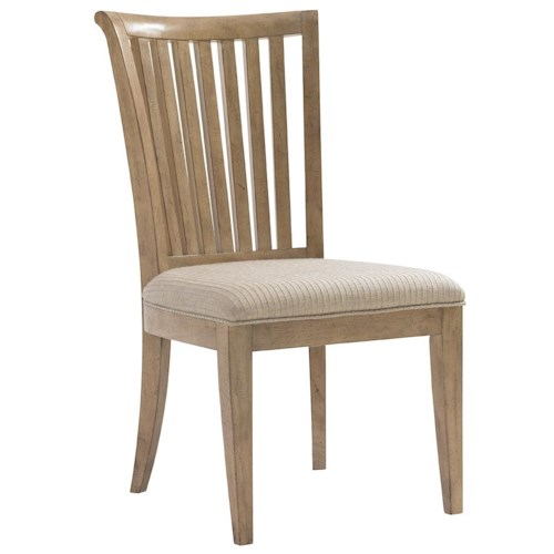 Lexington Monterey Sands Alameda Slat Back Side Chair